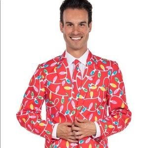Christmas Suit by Tipsy Elves. Worn twice